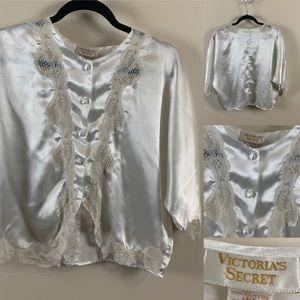Victoria's Secret Vintage Gold Label 80s Jacket 🌙